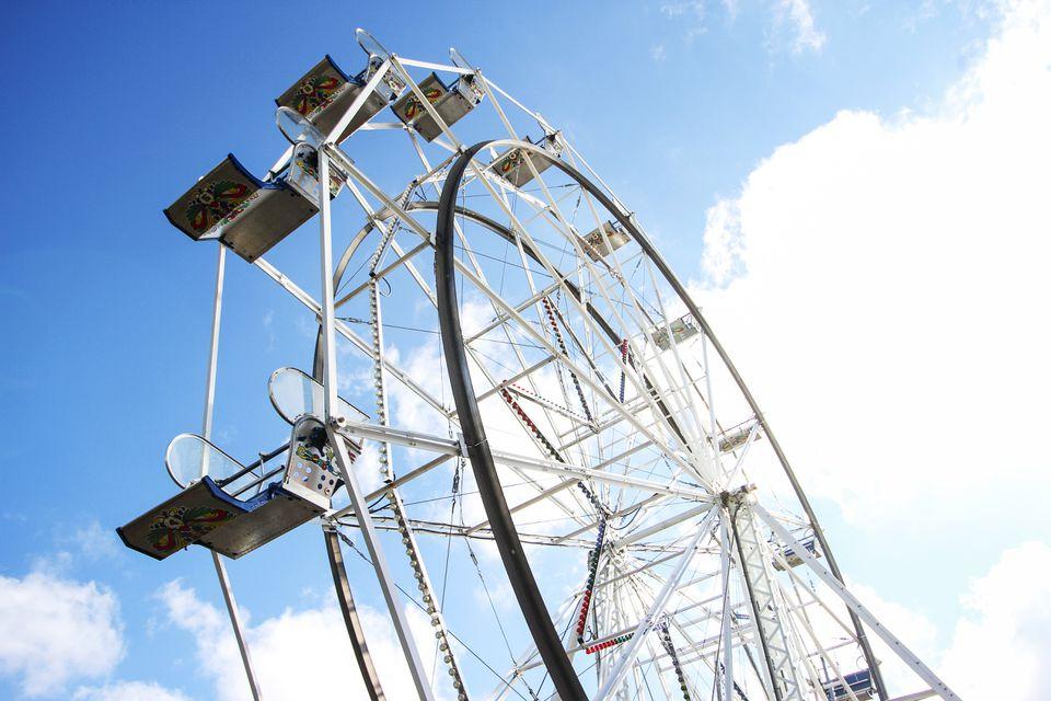 Ferris wheel at Oaks Park