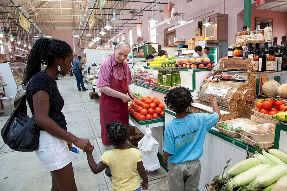 Eastern Market is a public market in the Capitol Hill neighborhood of Washington, D.C