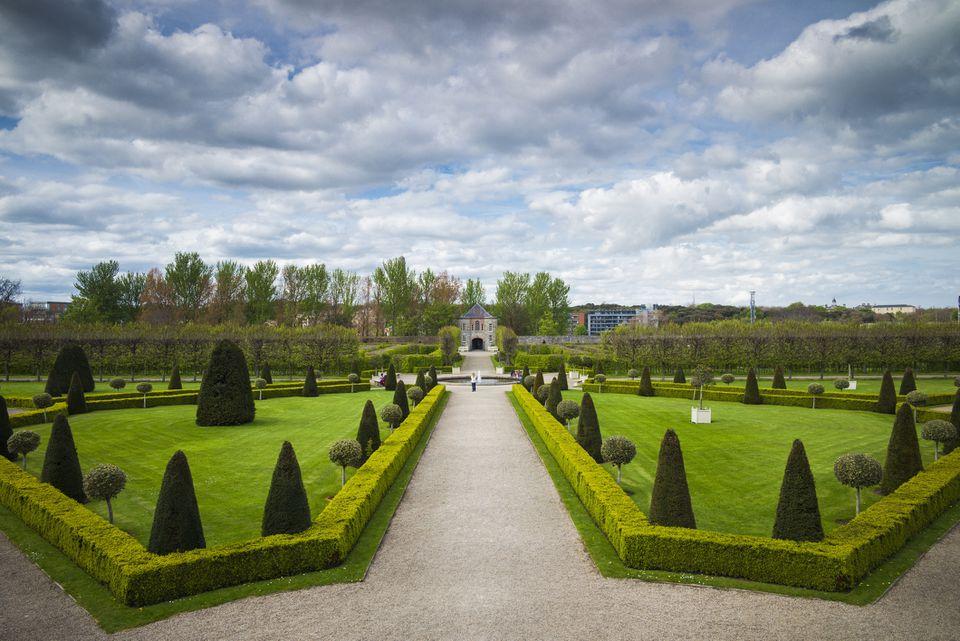 Jardines del Museo Irlandés de Arte Moderno