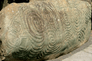 Newgrange - the Entrance Stone