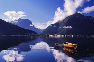 Romsdalsfjord, Romsdal, Norway