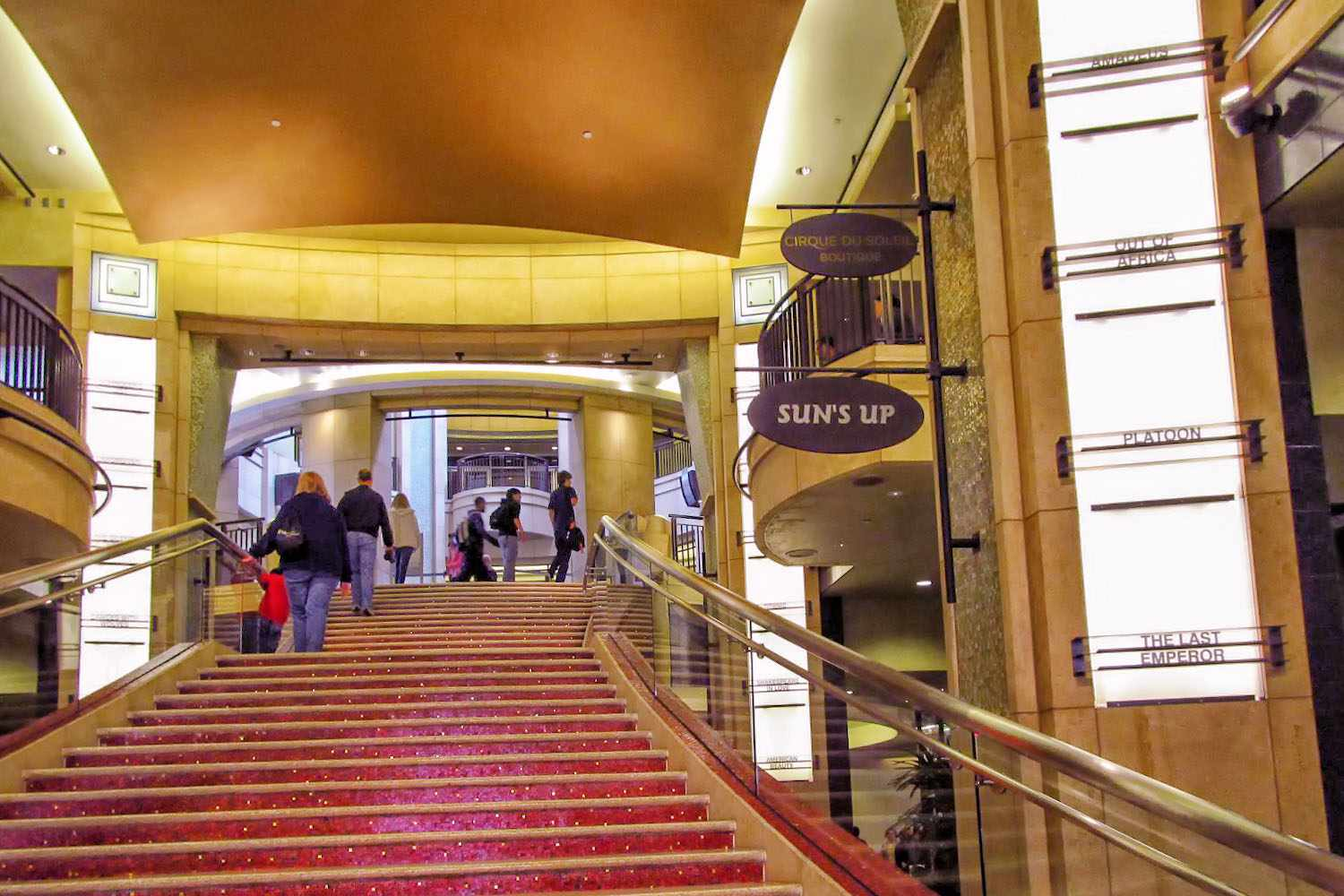 Red Carpet Stairway to the Dolby Theatre
