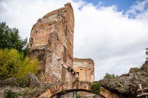 The Domus Aurea in Rome, Italy