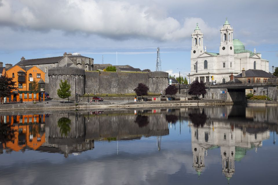 Republic of Ireland,County Westmeath,Athlone,Athlone Castle and River Shannon