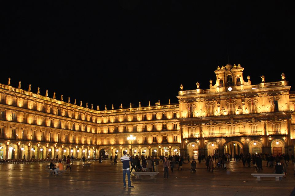 Plaza Mayor in Salamanca