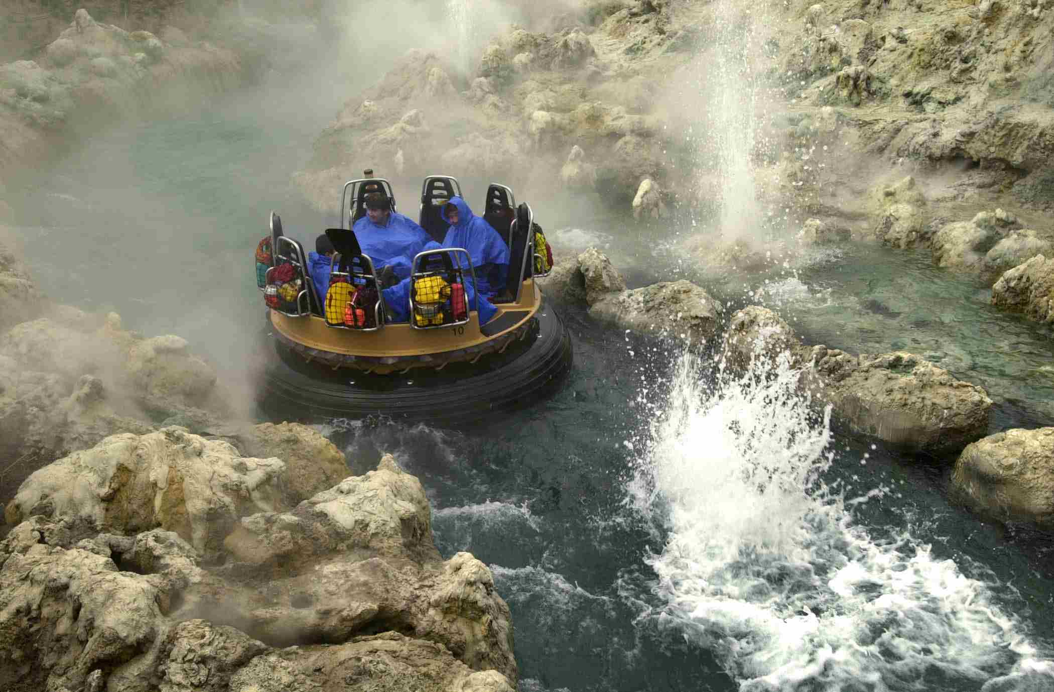 Riders on Grizzly River Run