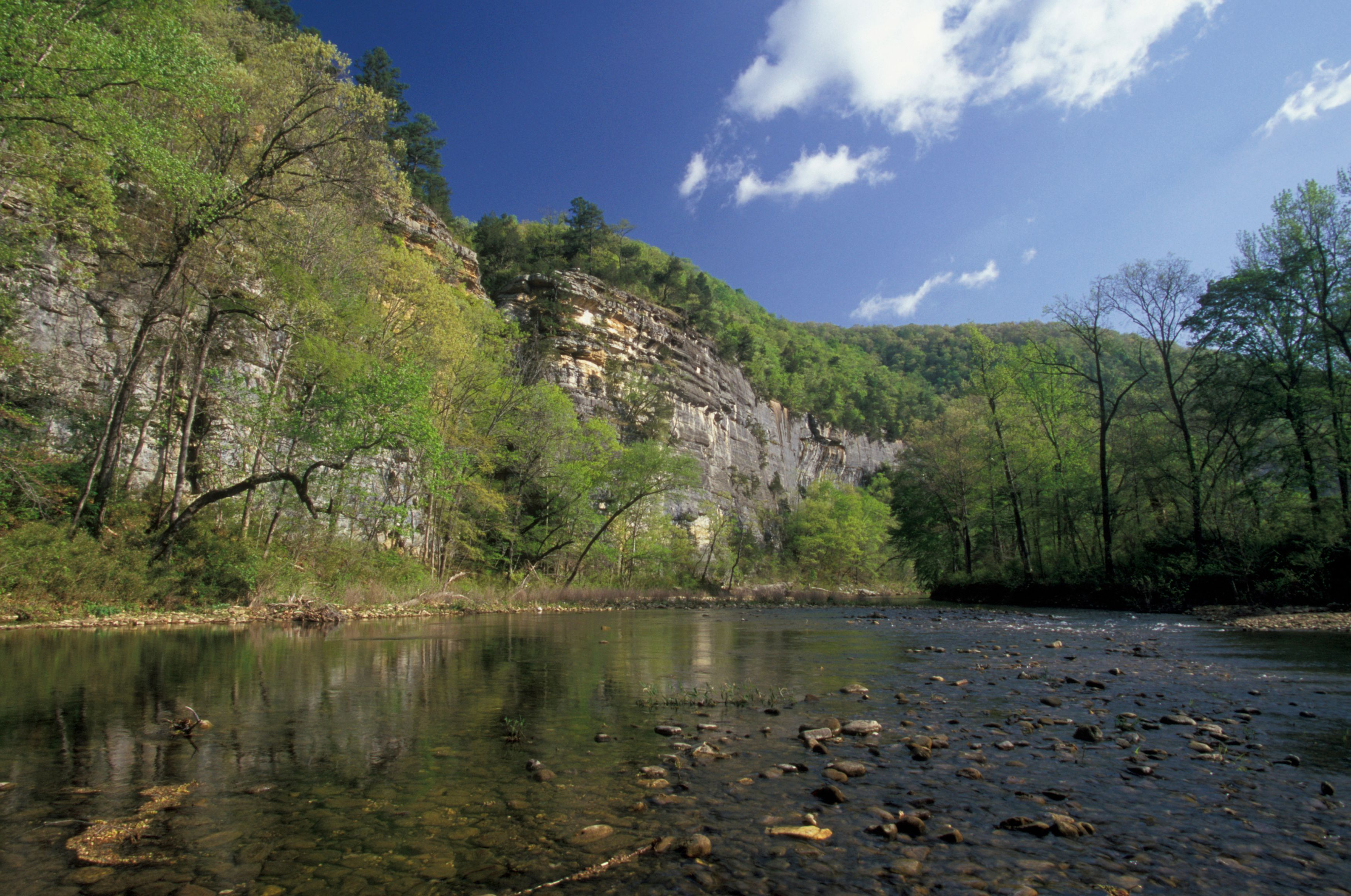 Buffalo National River great for river float trips.