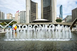 Nathan Philips Square in Toronto