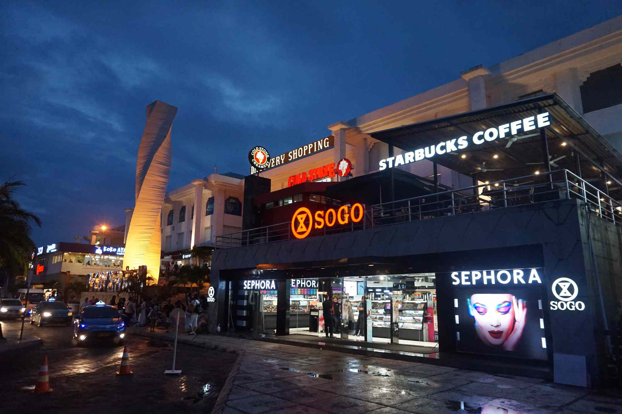 Top Shopping Malls In South Bali Indonesia