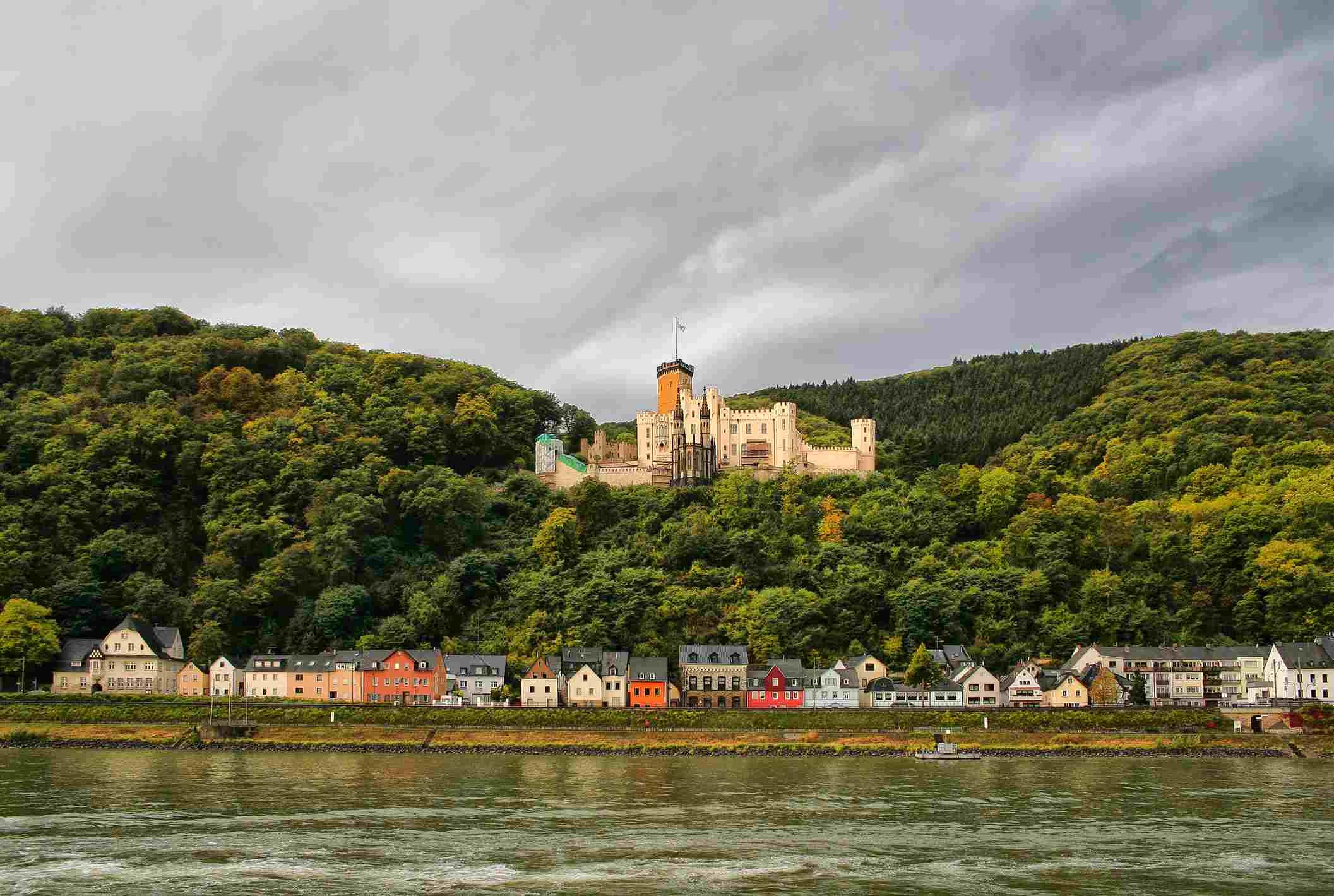 Koblenz's Stolzenfels Castle