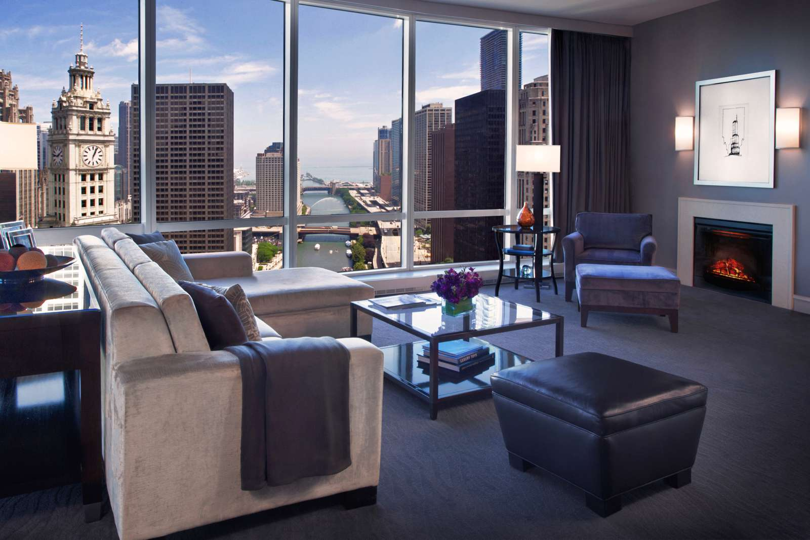 Great views from Trump Hotel Chicago