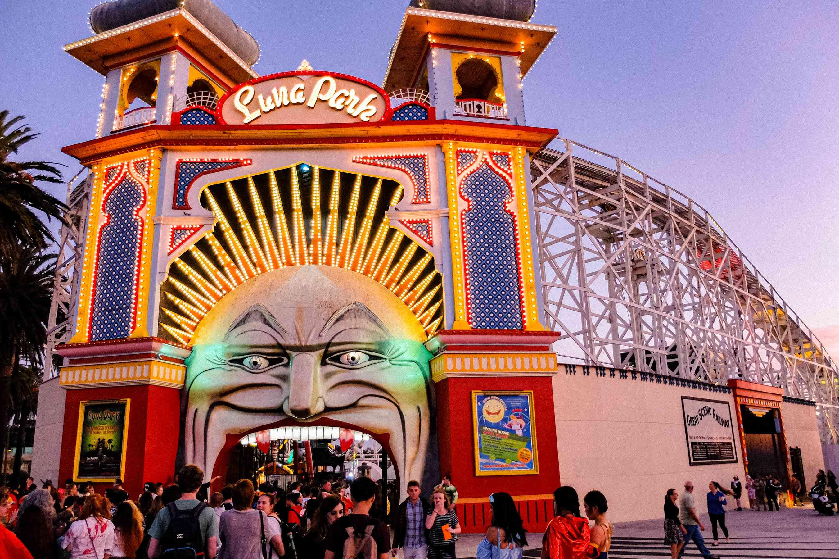 Entrada al Luna Park