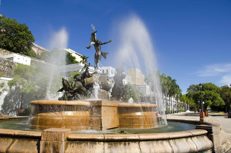 Raices Fountain Old San Juan