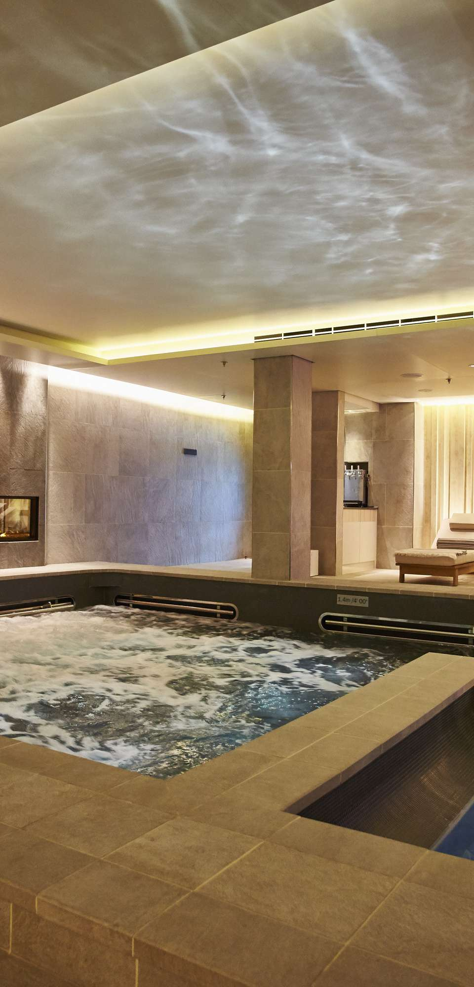Viking Star thermal suite in the LivNordic Spa