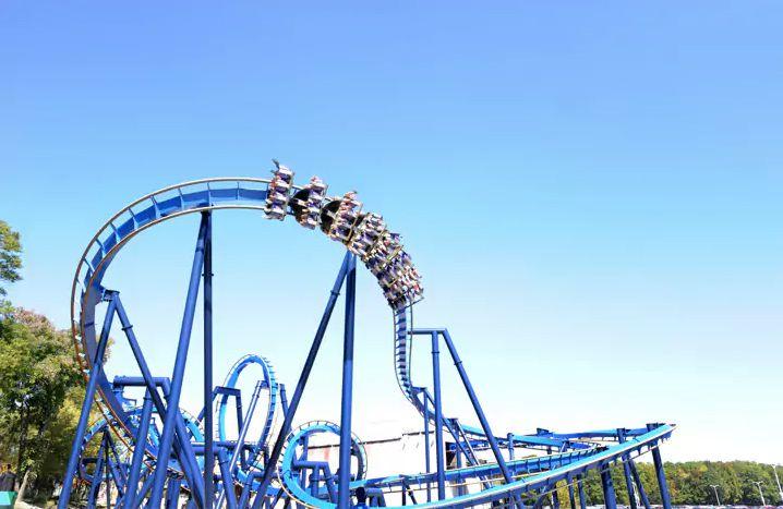 Batman Coaster at Six Flags Over Georgia
