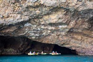 Sea Caves in the Channel Islands