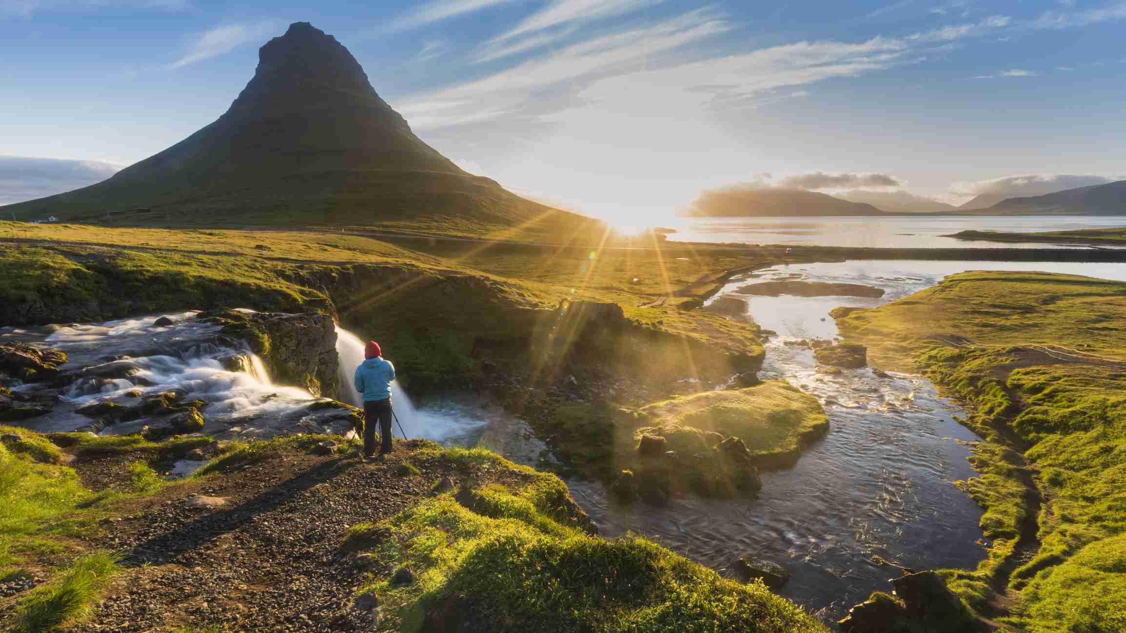 Kirkjufell in Snaefellsnes Penisula, Iceland