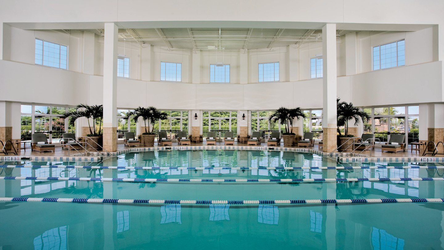 The Pools Of The Opryland Hotel