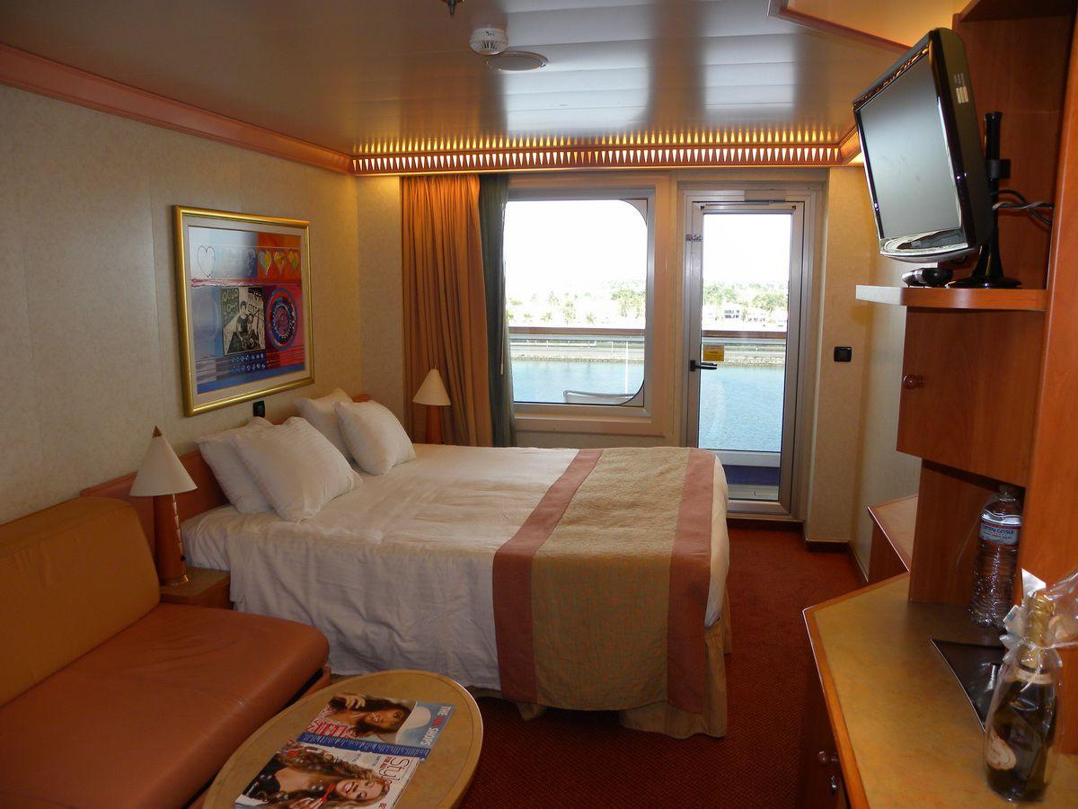 Carnival Liberty cabin