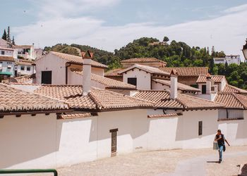 The Albaicín neighborhood of Granada, Andalusia, Spain