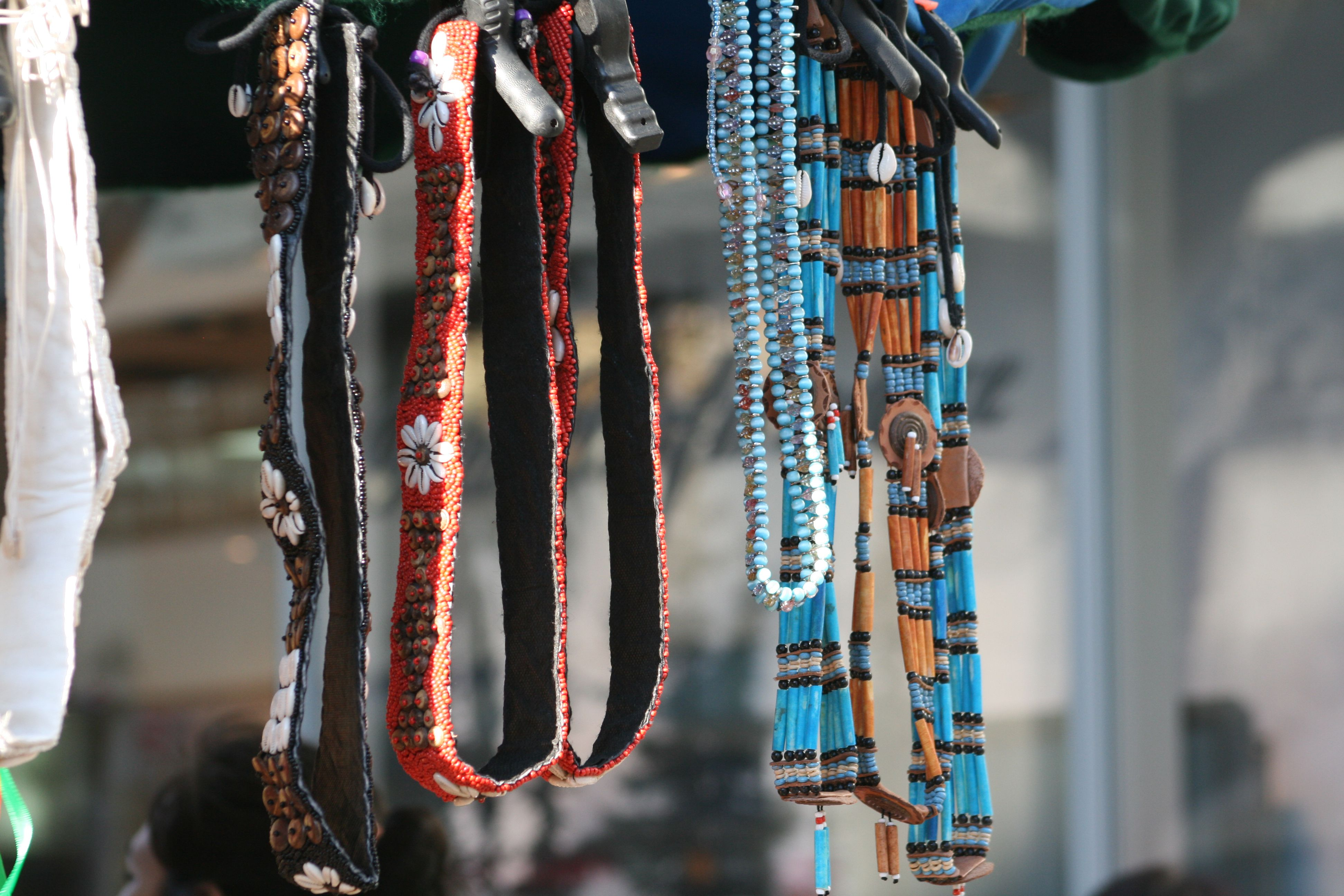 Necklaces made by BC First Nations