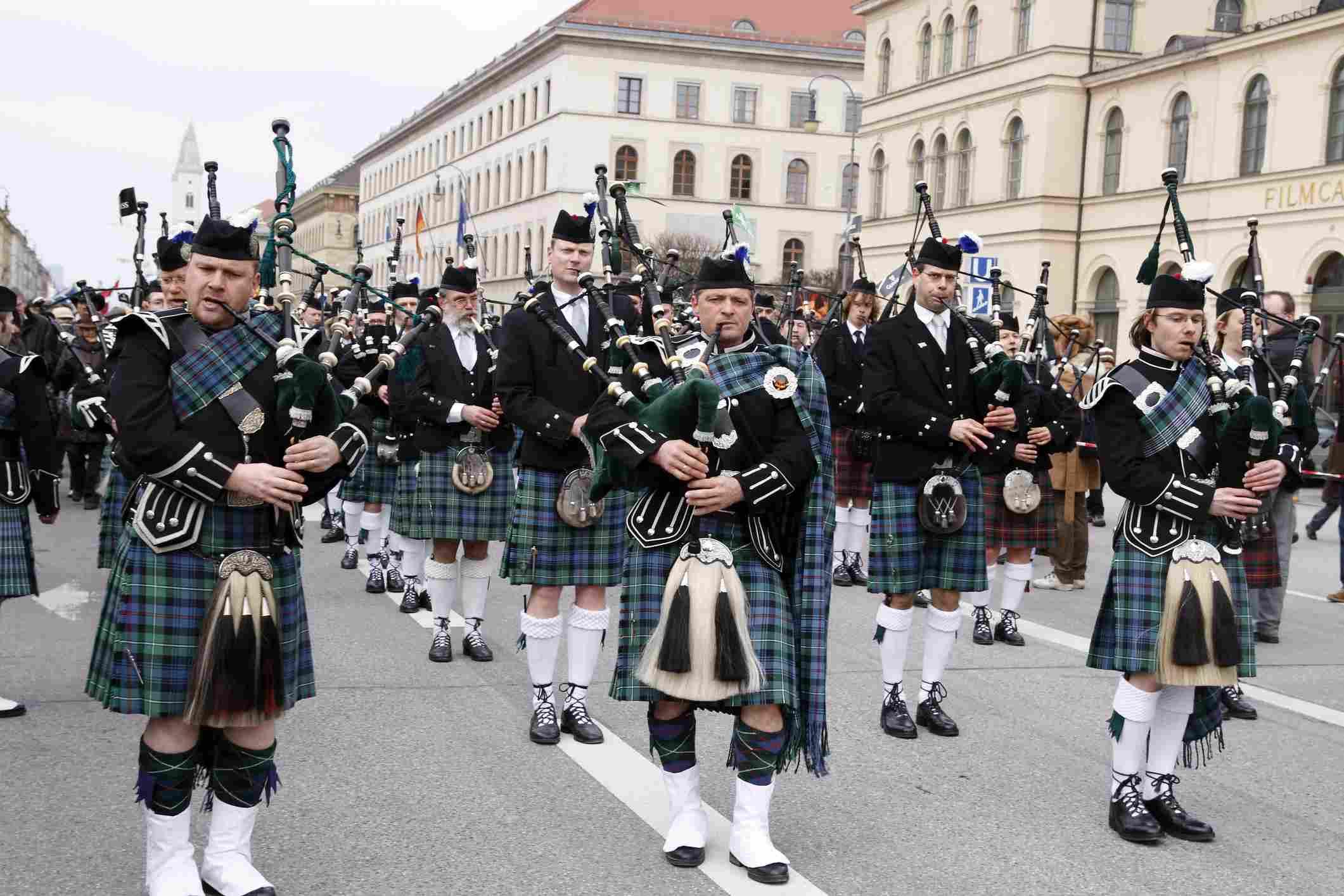 Munich, Alemania Desfile del Día de San Patricio