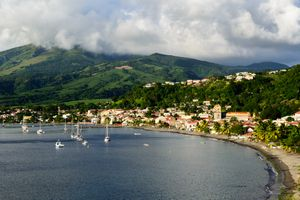 Saint Pierre and Mount Pelee on Martinique