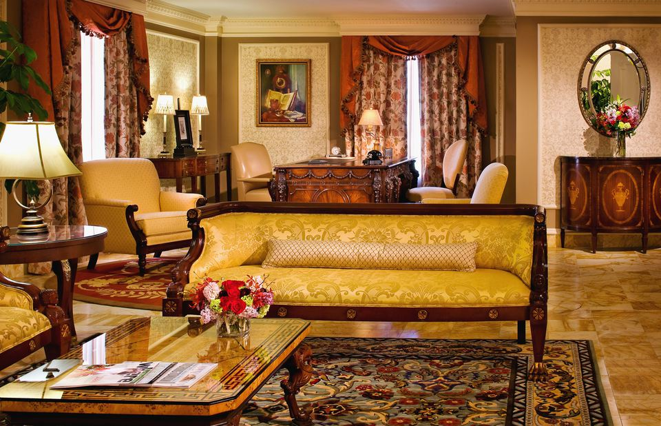 John Adams Parlor - Willard Hotel