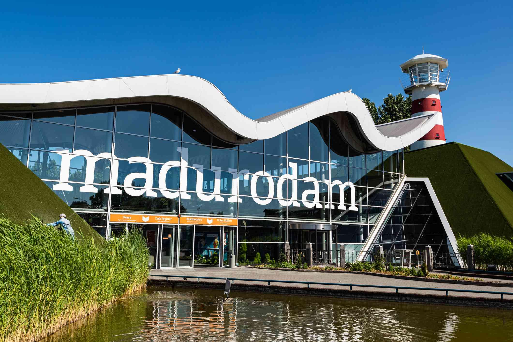 Entrance to Madurodam miniature city, The Hague, Netherlands, Europe