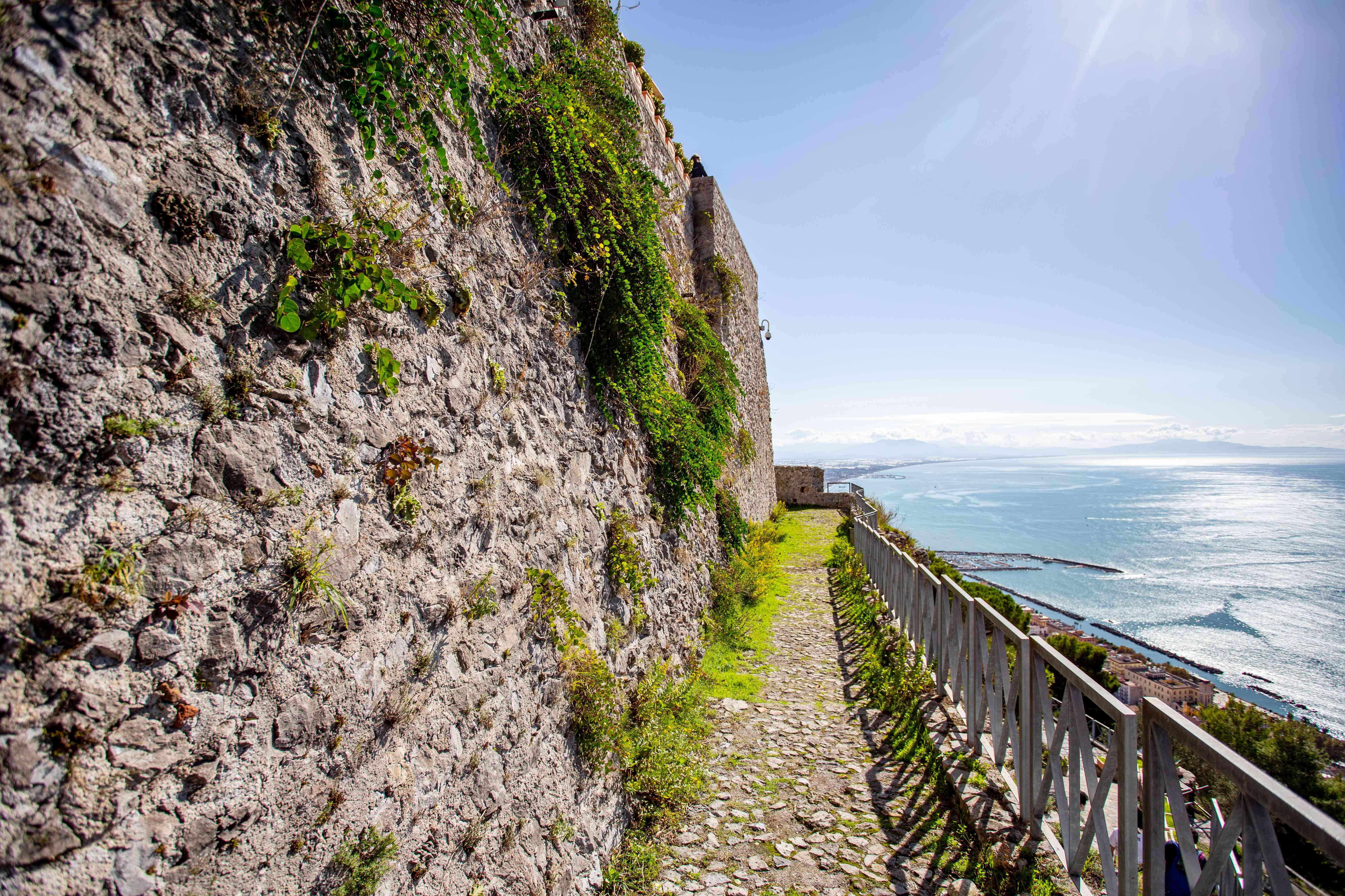 Arechi Castle in Salerno, Italy