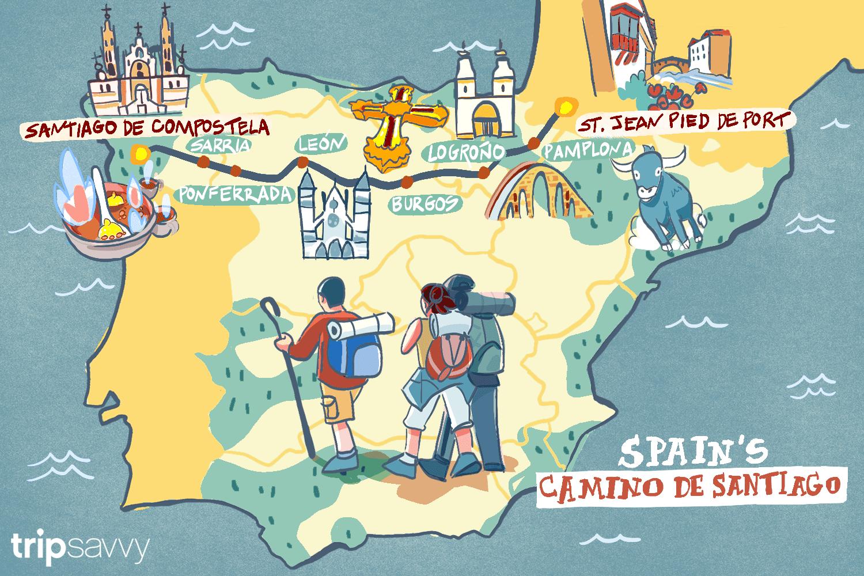 How Long Does Spain's Camino de Santiago Take?