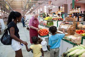Eastern Market is a public market in the Capitol Hill neighborhood of Washington, D.C