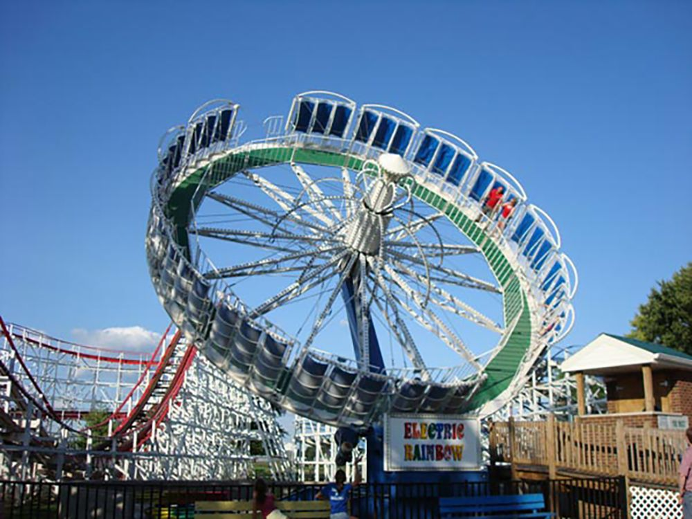 Stricker's Grove amusement park in Ohio