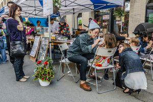 Sidewalk festival Montreal