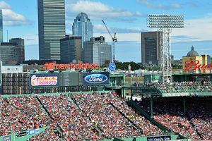 Fenway Park on a Gorgeous Day