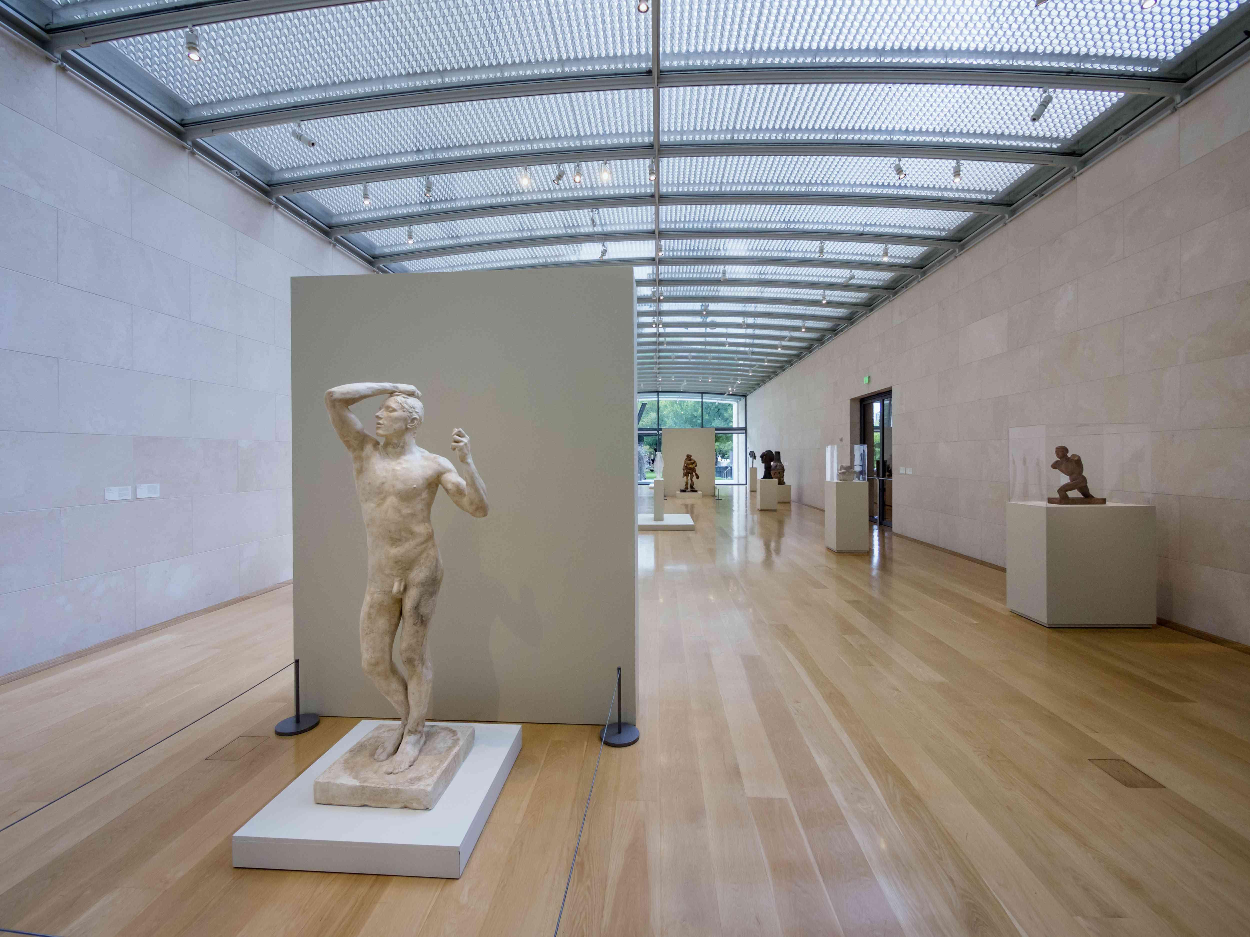 The Nasher Sculpture Center, Dallas, Texas.