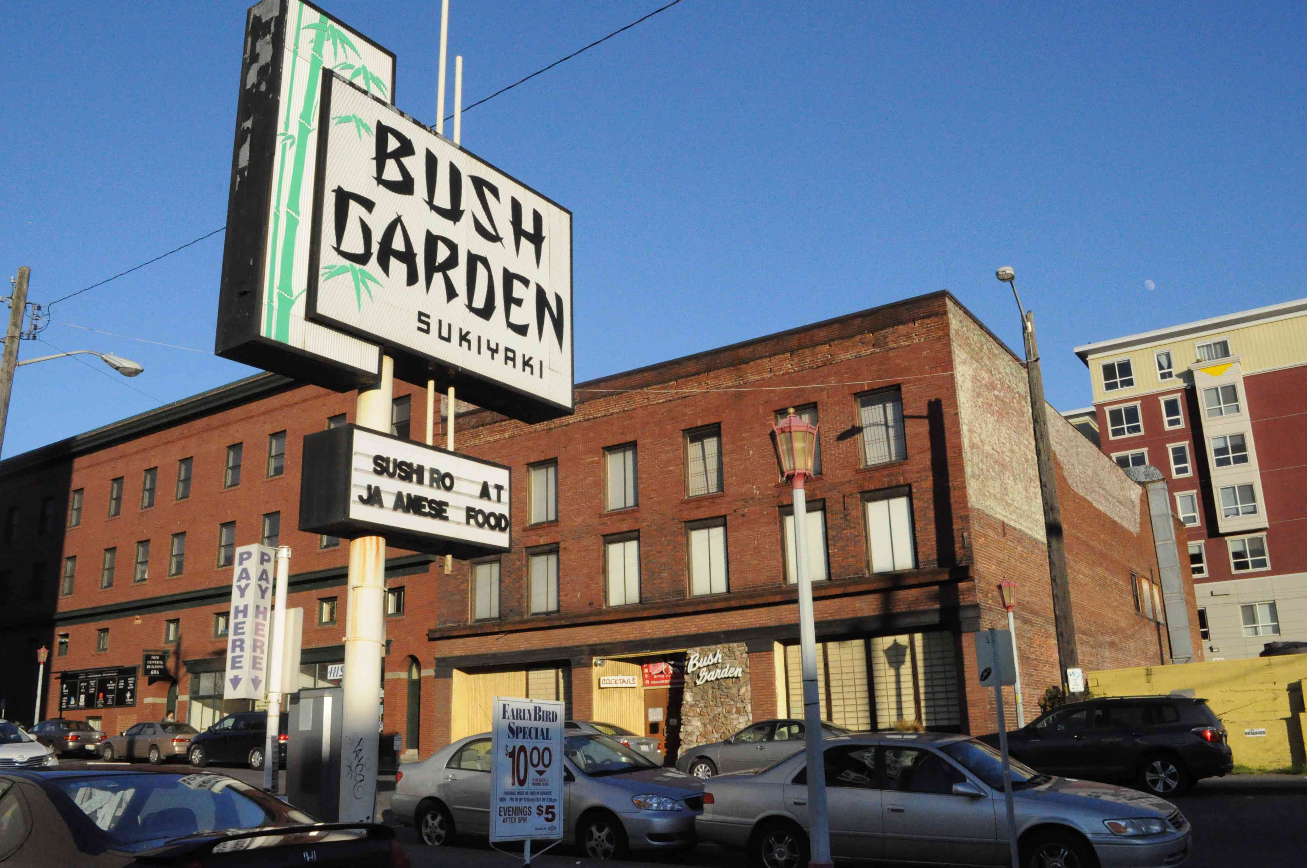 Bush Garden is a hotspot for karaoke