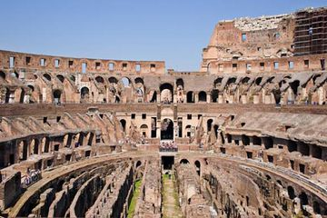 Roman Colosseum Interior