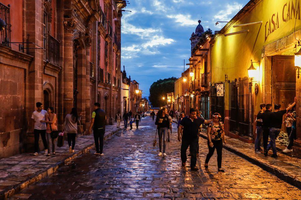 San Miguel de Allende, Guanajuato, México - Un pueblo mágico mexicano
