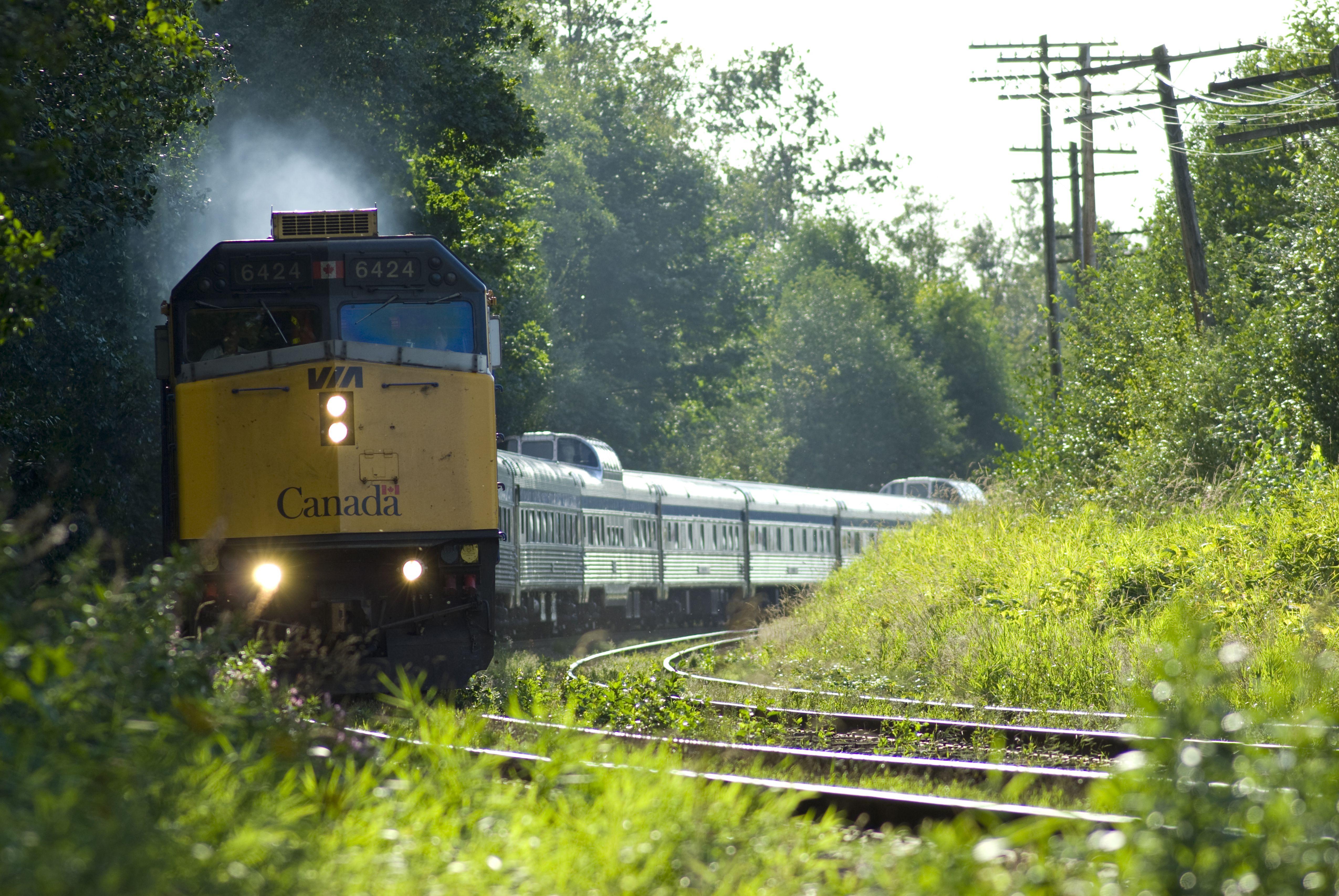 VIA's Canadian (Train #2)