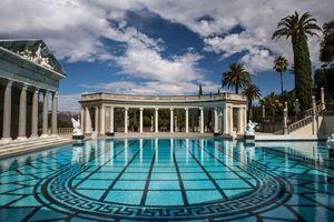 Restored Neptune Pool at Hearst Castle