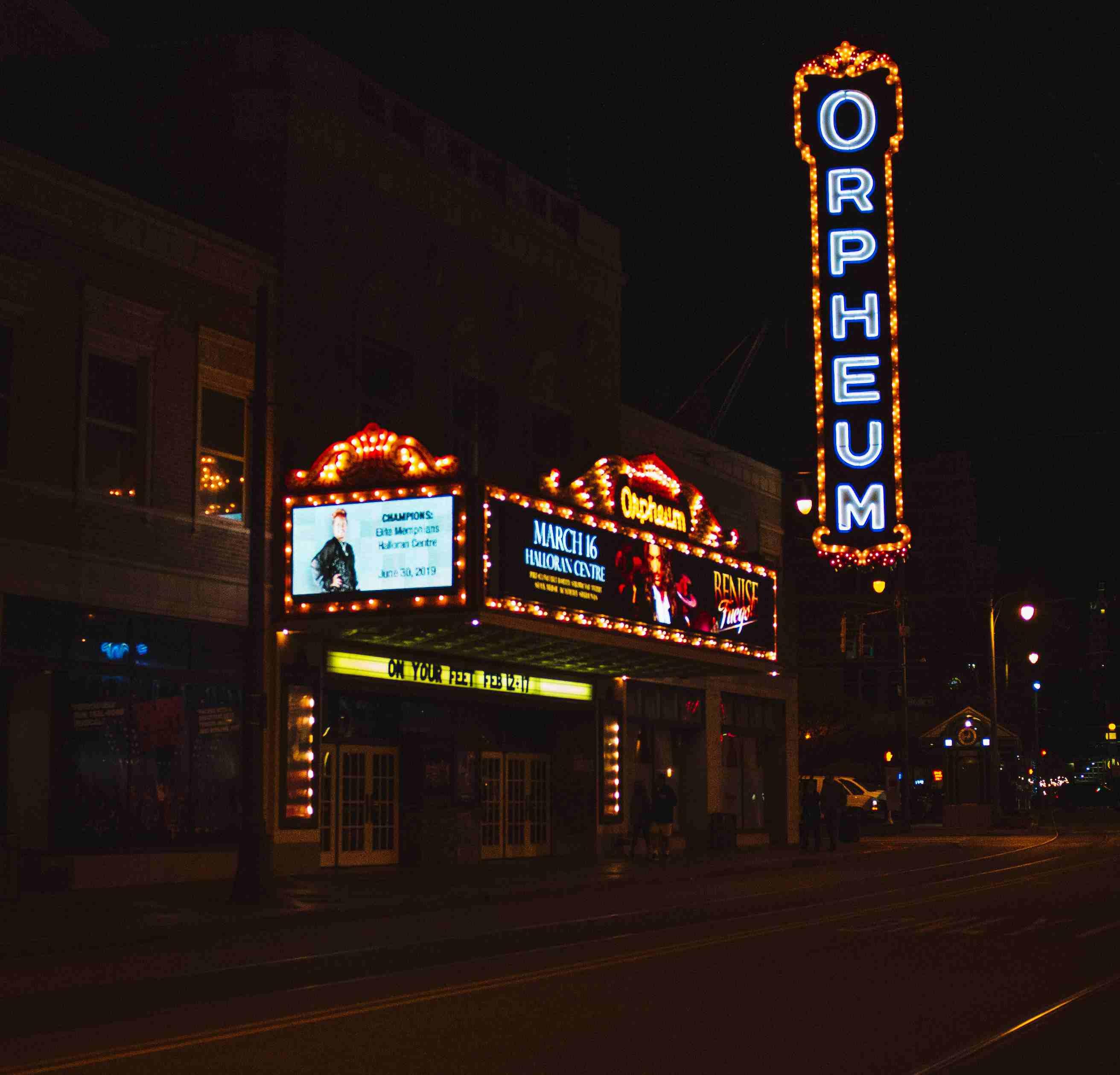 The Orpheum in Memphis