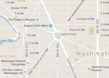 Embassy Row In Washington Dc A Map And Directions