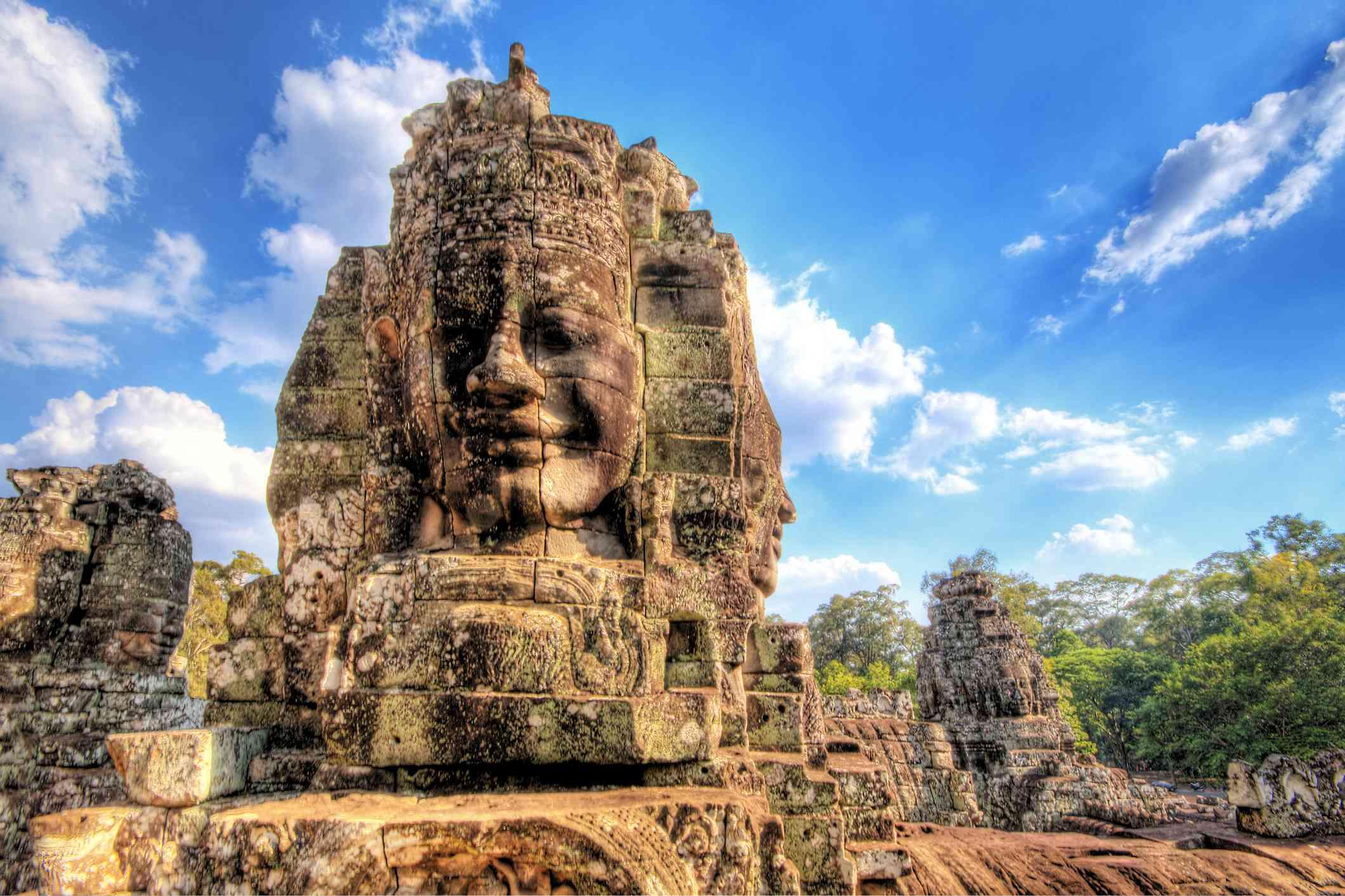 Angkor Thom, Bayon Temple, Siem Reap, Cambodia