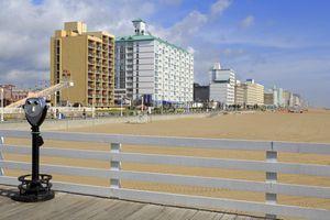 Hotels on the Boardwalk, Virginia Beach, Virginia