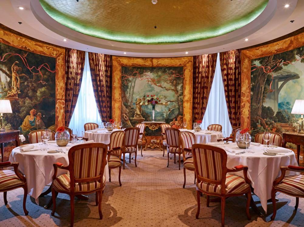 Le Ciel Toni Morvald, a romantic restaurant in Vienna