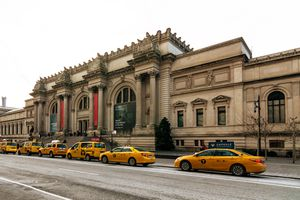 Exterior of the Met Museum museum