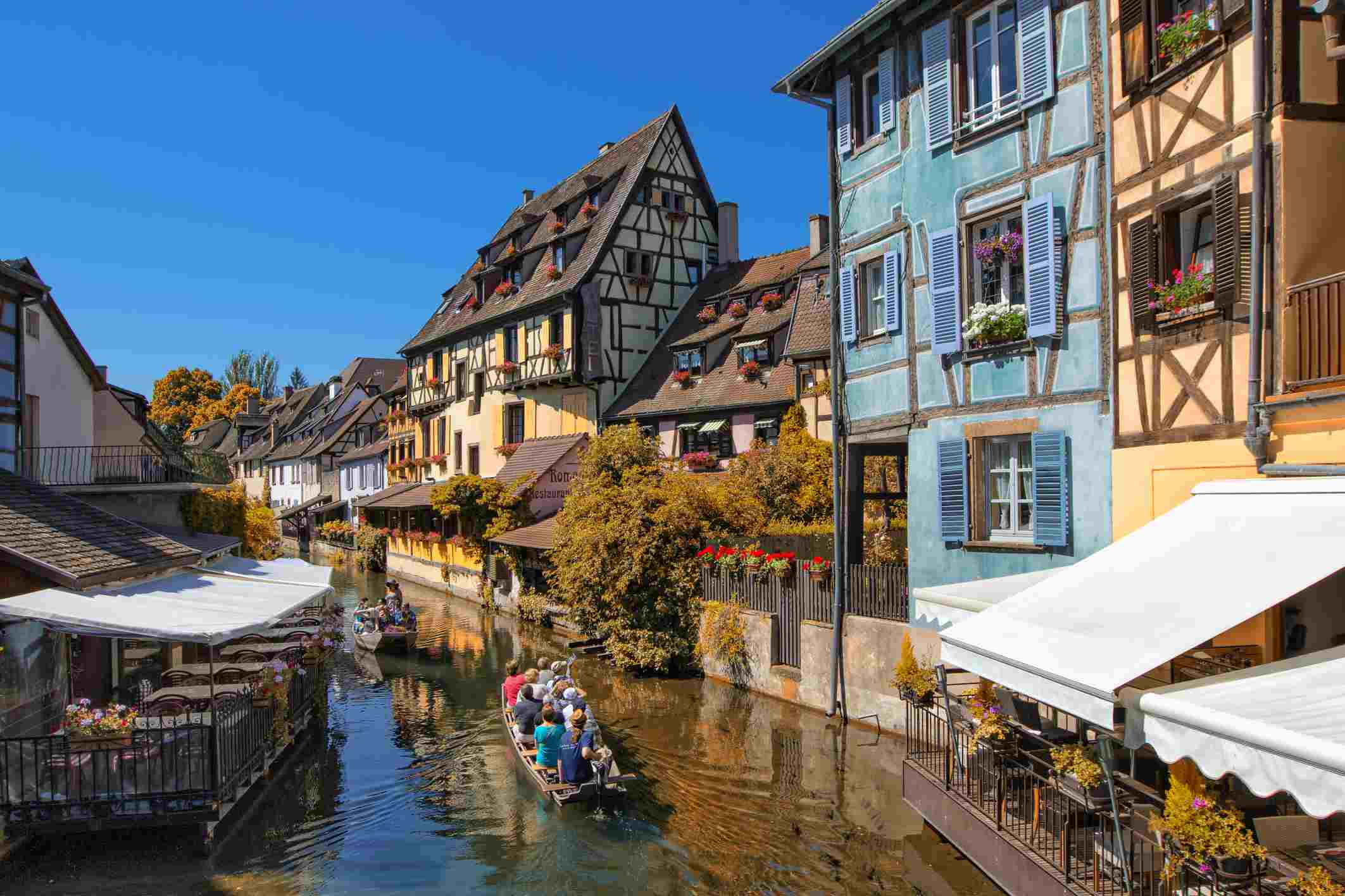 Elsass Karte Colmar.Virtual Tour Of Colmar In Alsace France