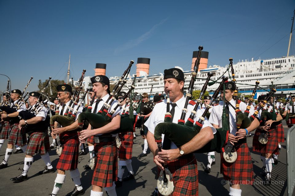 Scotsfest Scottish Festival at the Queen Mary
