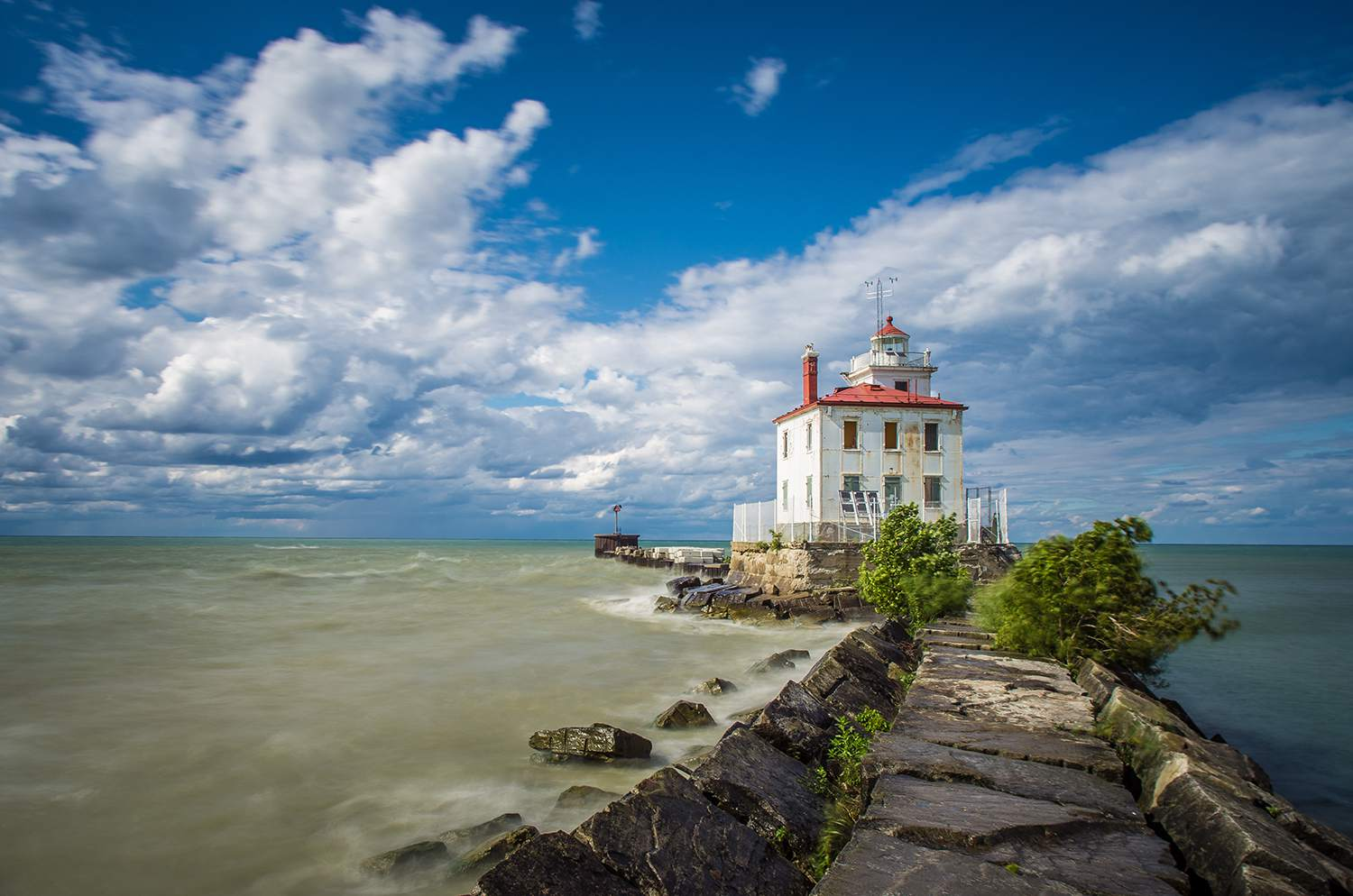 The Lighthouses Of Lake Erie